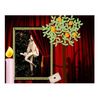 Waldolala ballet postcard