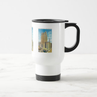 Waldorf Astoria, New York City Taza De Viaje De Acero Inoxidable