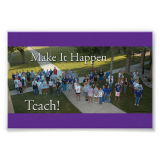 Waldorf College Ed Dept Poster