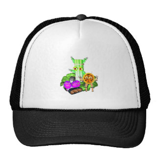 Waldorf Robots Trucker Hat
