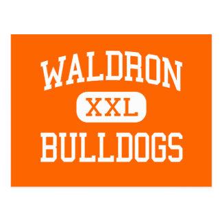 Waldron - Bulldogs - High - Waldron Arkansas Postcard