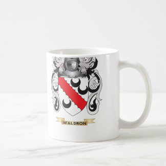 Waldron Family Crest (Coat of Arms) Coffee Mug
