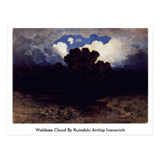 Waldsee Cloud By Kuindshi Archip Ivanovich Postcard