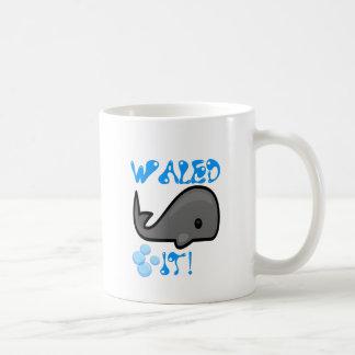 Waled It Classic White Coffee Mug