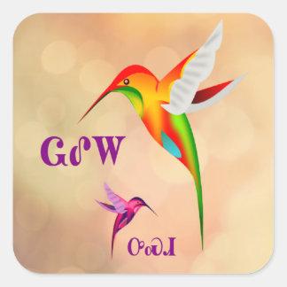 Walela - Cherokee Hummingbird Sticker