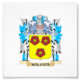 Walenta Coat of Arms - Family Crest Photo Art