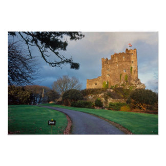 Wales - A private welsh castle near St. Poster