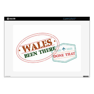 """Wales Been There Done That Decals For 15"""" Laptops"""