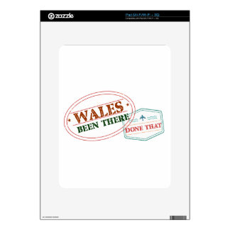 Wales Been There Done That Decals For iPad