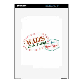 Wales Been There Done That iPad 2 Decal