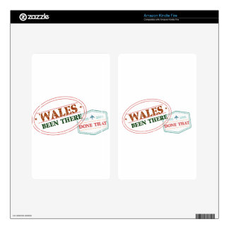 Wales Been There Done That Skins For Kindle Fire