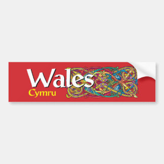 Wales Bumper Sticker - Cymru