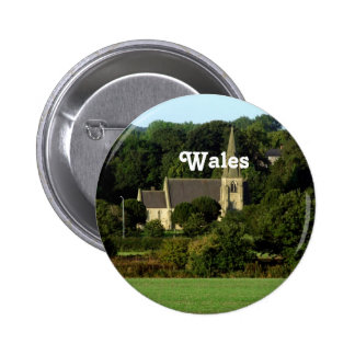 Wales Pinback Buttons