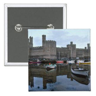Wales, Caernarfon castle, one of Edward's Button