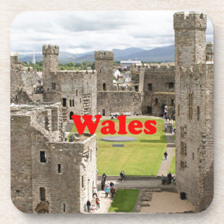 Wales: Caernarfon Castle, United Kingdom Drink Coaster