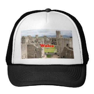 Wales: Caernarfon Castle, United Kingdom Trucker Hat