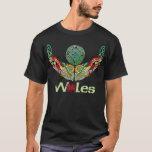Wales Celtic Torc T Shirt