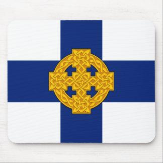 wales church flag welsh british symbol mouse pad