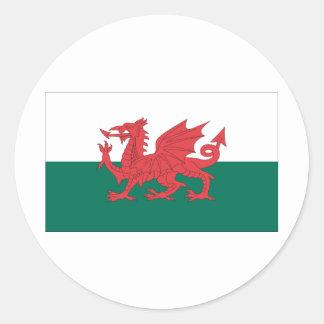 Wales Classic Round Sticker