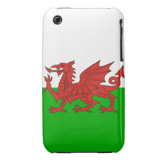 wales country dragon flag welsh british iPhone 3 Case-Mate case