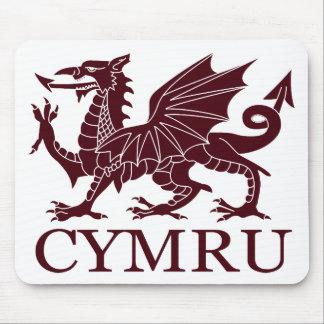 Wales CYMRU Mouse Pad