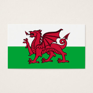 Wales Dragon Business Card