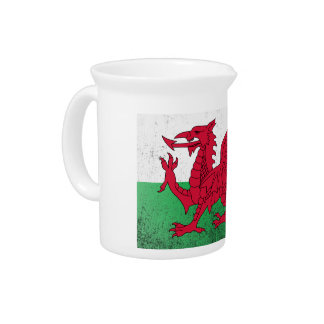 Wales Drink Pitcher