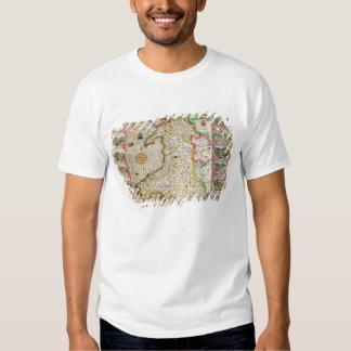 Wales, engraved by Jodocus Hondius Tee Shirt