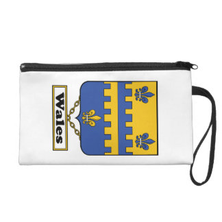 Wales Family Crest Wristlet Clutches
