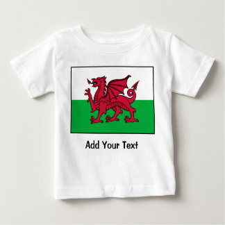 Wales Flag Baby T-Shirt