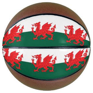 Wales Flag Basketball