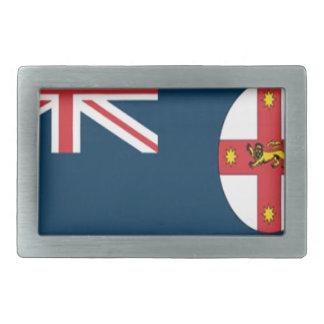 Wales flag belt buckle