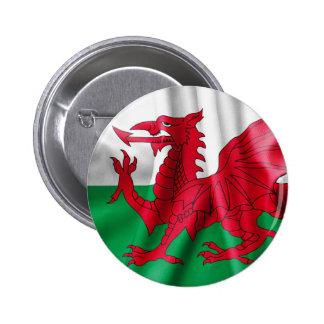 Wales Flag Button