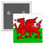 Wales flag buttons