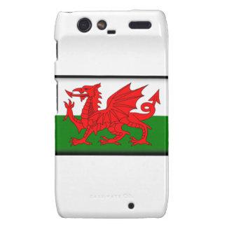Wales Flag Droid RAZR Case