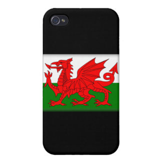 Wales Flag  Cover For iPhone 4