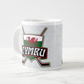 Wales Flag Ice Hockey Flag Mug