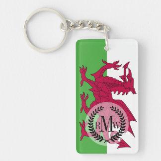 Wales Flag Keychain