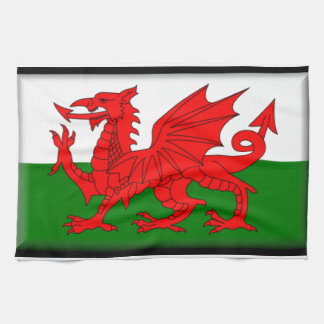 Wales Flag Kitchen Towel