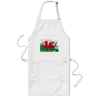 Wales Flag Long Apron