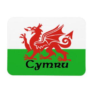 Wales Flag Magnet