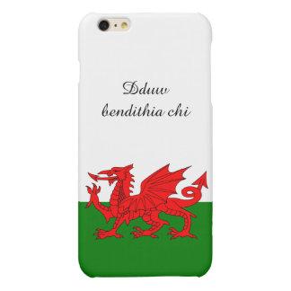 Wales flag matte iPhone 6 plus case