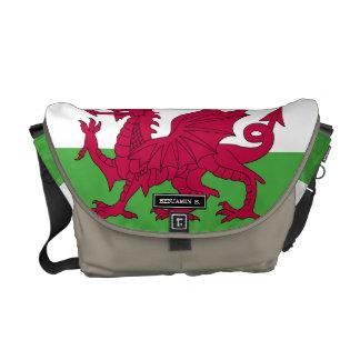 Wales Flag Messenger Bag