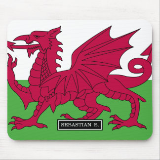 Wales Flag Mouse Pad