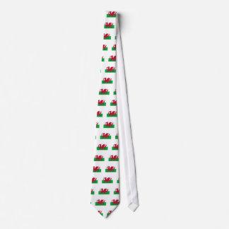 Wales Flag Neck Tie