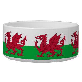 Wales Flag Pet Bowl