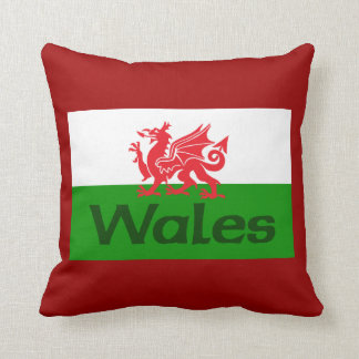 Wales Flag Pillow