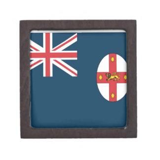 Wales flag premium trinket box