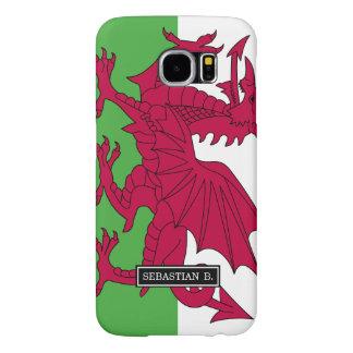 Wales Flag Samsung Galaxy S6 Case
