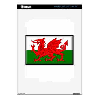 Wales Flag iPad 3 Skins